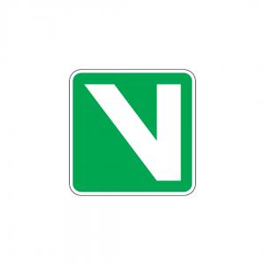 H33 - Via verde - Sinais de Informação