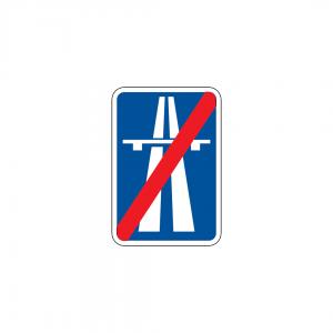 H38 - Fim de auto-estrada - Sinais de Informação