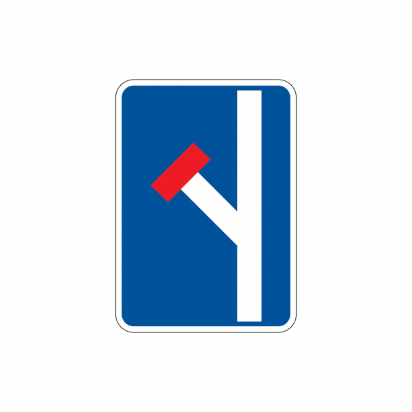 I7A - Pré-sinalização de via sem saída - Sinais de Pré-Sinalização