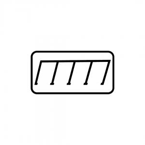MOD 12B - Indicadores da posição autorizada para estacionamento - Painéis Adicionais