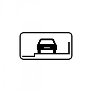 MOD 12D - Indicadores da posição autorizada para estacionamento - Painéis Adicionais