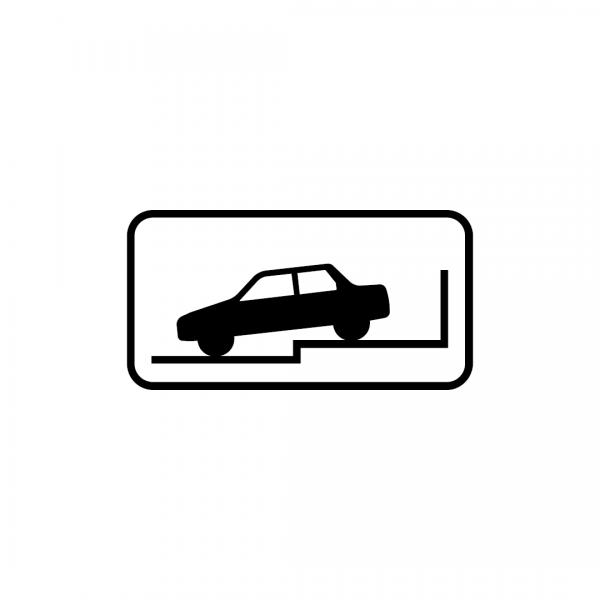 MOD 12E - Indicadores da posição autorizada para estacionamento - Painéis Adicionais