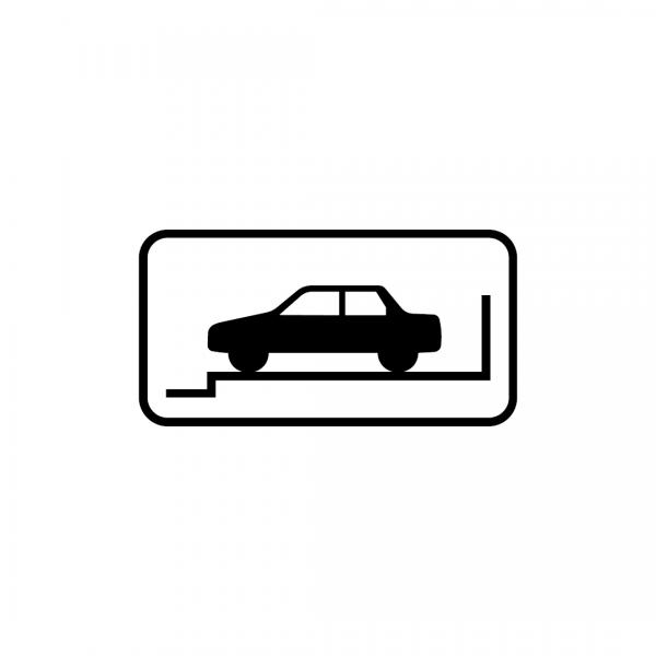 MOD 12F - Indicadores da posição autorizada para estacionamento - Painéis Adicionais