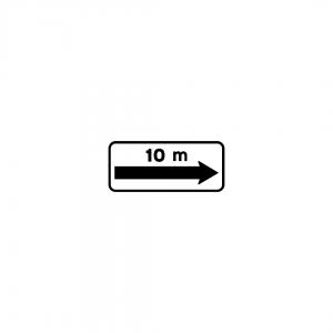 MOD 4A - Indicador da extensão regulamentada e de repetição da extensão - Painéis Adicionais