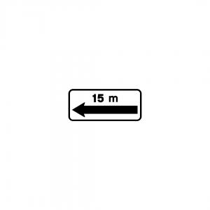MOD 4B - Indicador da extensão regulamentada e de repetição da extensão - Painéis Adicionais