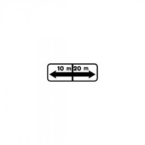 MOD 5 - Indicador da extensão regulamentada e de repetição da extensão - Painéis Adicionais