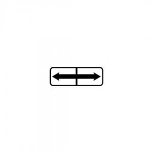 MOD 6A - Indicadores de continuação do local regulamentado quanto a estacionamento ou paragem - Painéis Adicionais