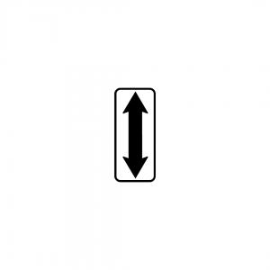 MOD 6B - Indicadores de continuação do local regulamentado quanto a estacionamento ou paragem - Painéis Adicionais