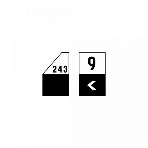 O1C - Restantes estradas - Sinais complementares