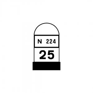 O2D - Restantes estradas - Sinais complementares