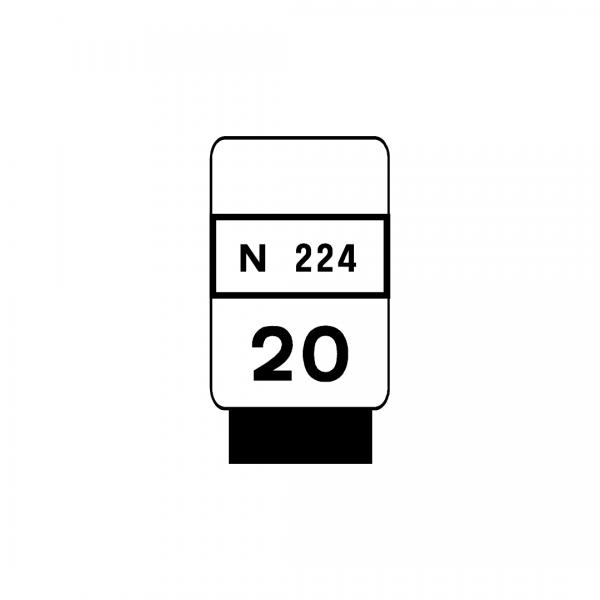 O3D - Restantes estradas - Sinais complementares