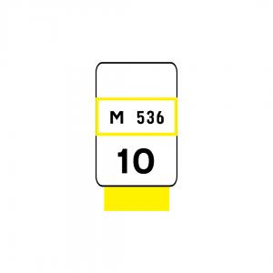 O3E - Estradas Municipais - Sinais complementaresO3E - Estradas Municipais - Sinais complementares