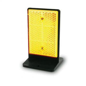 RAU 1 - RAB 1 - Refletor unidirecional e bidirecional - DB-1 - Delineador de barreira - Equipamento de Guiamento e Balizagem