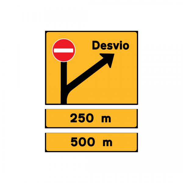 TD7 - Desvio de itinerário - TD | Painéis Temporários de Desvio