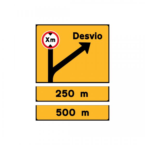 TD8 - Desvio de itinerário - TD | Painéis Temporários de Desvio