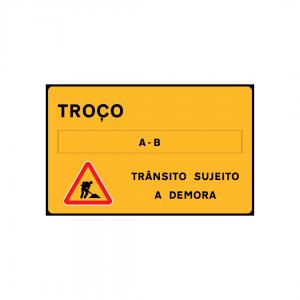 TV2-ST11 - Trânsito sujeito a demora - TV | Sinais Temporários Vários