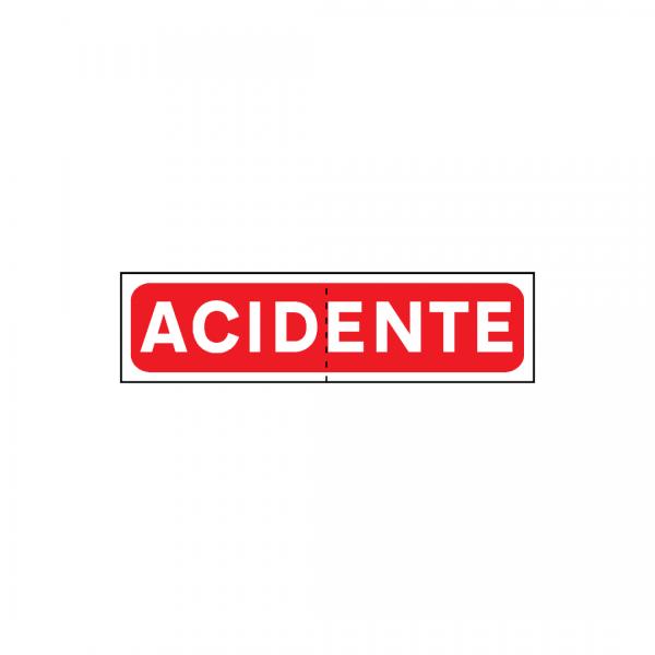 TV5-ST13 - Painel de sinalização de acidente - TV | Sinais Temporários Vários