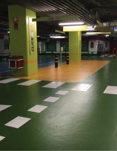 Estacionamento Interior