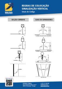 Regras de Colocação - Sinalização Vertical - Meio Corte