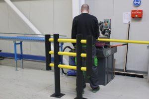 Barreiras Flexíveis Foxtrot - Meio Corte